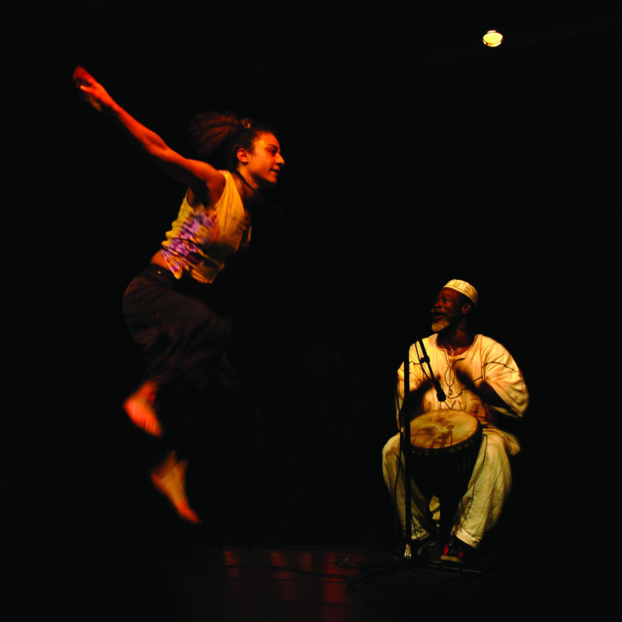 Danse africaine - Compagnie Dounia - Crédit: Mako